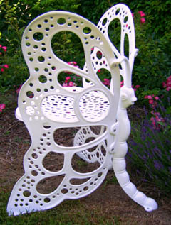 Superbe This Beautiful Butterfly Furniture Will Add A Functional, Elegant, Focal  Point In Your Home Or Garden. Classic Wrought Iron Design In Lighter, ...